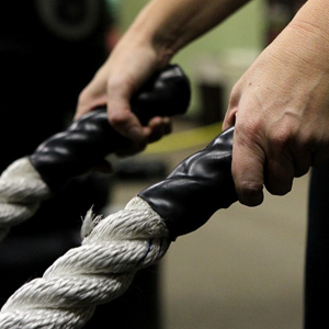 battle ropes handles